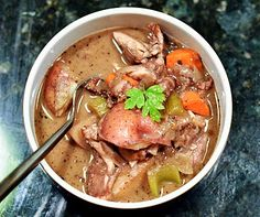 definitely one of my top 5 favorite Weight Watchers recipes. coq au vin.