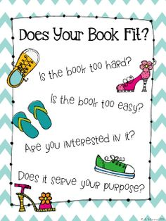 classroom, book posters, good fit books anchor chart, schools, launch read, weight loss, daily five anchor charts, minis, places