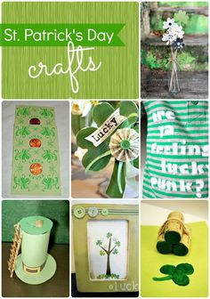 A collection of over 20 St. Patrick's day ideas!