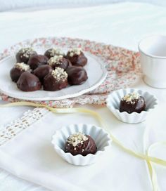 Vegan sweet potato truffles