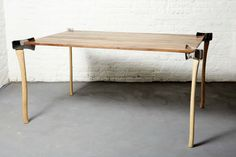 Axe Tables by Christopher Duffy