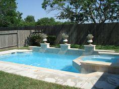 Pool remodels on pinterest swimming pools swim up bar Swimming pool companies in houston texas