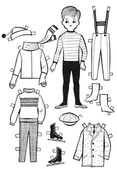 For Kids: Paper Doll