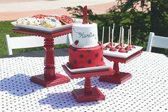 bugs, birthday parties, cakes, birthday idea, ladybug cake, ladybug parti, ladybug party, parti idea, ladybug birthday
