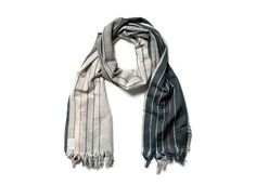 Co-op Wool & Silk Scarf, Stripe