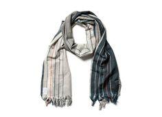 Co-op Wool & Silk Scarf, Stripe