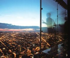 """""""Incomparable views of the city from the glass observation tower.Tickets are $19 for those ages 12 and up, $12 for those ages 3 to 11 and free for children under 3. """" – SJP 