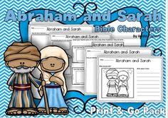 Abraham and Sarah - Print & Go Packet 3.00
