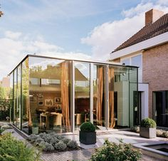 #Glass #extension