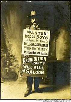 Prohibition party.