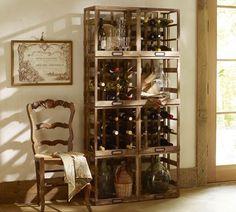 dining rooms, wines, wine racks, wine crates, wine bottles