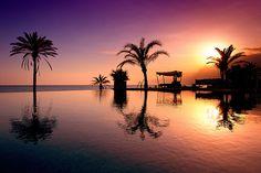 Puesta de sol Beach Club Estrella del Mar (Marbella)