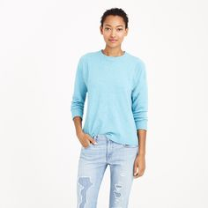 Collection cashmere seamed sweater - sweaters - Women's collection - J.Crew