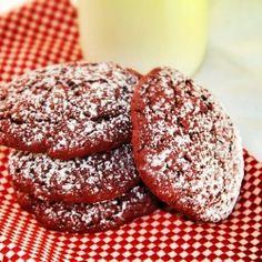 Red Velvet Cookies - these might be my cookie exchange cookies