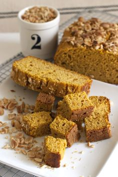 Peanut Butter Pumpkin Coffee Cake | FamilyFreshCooking.com