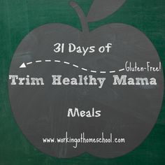 Meal Plan for 31 days of THM meals