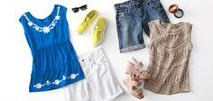 Easy summer style.