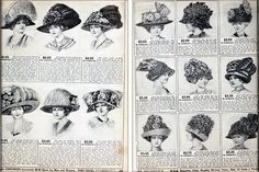 Sears catalog no. 124, 1912, pages 119 & 124, from Winterthur Museum Library