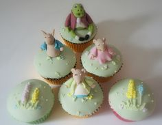 Beatrix Potter Cupcakes from www.byjojo.co.uk