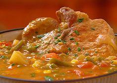 Grandma Neely's Fried Pork Chop Vegetable Soup