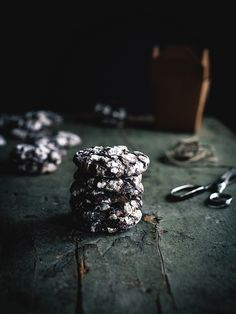 Mexican Chocolate Crinkle Cookies by carey nershi | Reclaiming Provincial