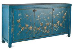 jago sideboard, chinese antiques, paint furnitur, chinoiseri paint, sideboard paint