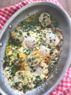 eggs with artichokes