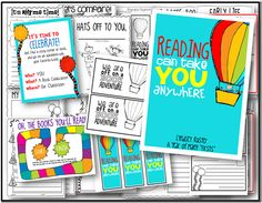 Perfect activities for Read Across America!