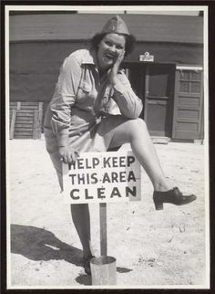 Vintage humor...this lady is awesome. @danielle mcCoy