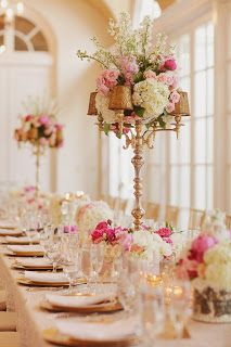 Wedding tablescape....