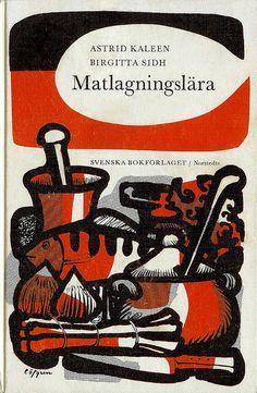 Kaleen/Sidh, Matlagningslära, cover by Ulf Löfgren, 1965