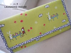 Cash Budgeting with FUN Tea-Party themed Enchant fabric!