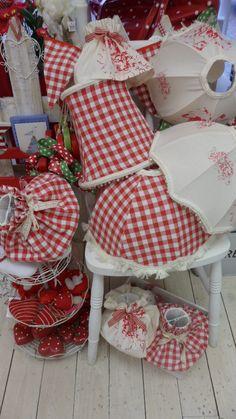 handmade lampshades..