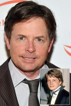 "Michael J. Fox's letter to his younger self: ""When the unexpected and inconceivable intrudes on life, and it will, deal with life's actual events—don't obsess about perceived eventualities.""    http://jdimlm.com/happysocks.com"