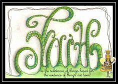 Polly-Wolly Doodle: Faith Is...
