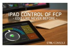 Control FCP & Premiere with your iPad! Meet CTRL+Console - The video editor's new best friend. www.motionvfx.com/B3664 #FCPX #AdobePremiere #FinalCutPro #Editing #VideoEditing #Apple #Adobe
