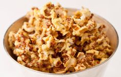 Honey & Mustard Popcorn by Marcus Wareing in our Independence Day recipe collection