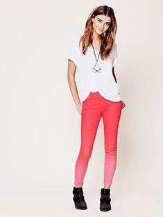Dip Dye! http://www.freepeople.com/whats-new/dip-dye-5-pocket-skinny-jeans/