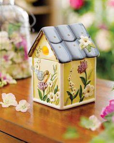 Celebrating Home fragrance warmer  Susan Winget art