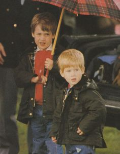tiny william & harry