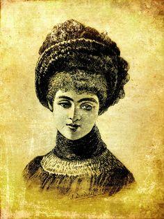 victorian women, collag sheet, free printabl, steampunk printabl