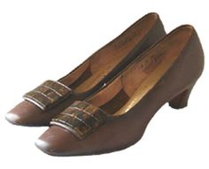 Jackie O Style Vintage 60s Shoes