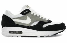 Nike Air Max 1 Black/Grey Summer 2012