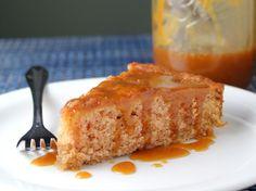 Butterscotch Peach Cake