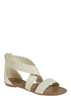 Ivory Happy for You Sandal $29.99