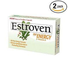#Estroven Plus Energy & Vitamin D Caplets, 40-Count Boxes (Pack of 2)
