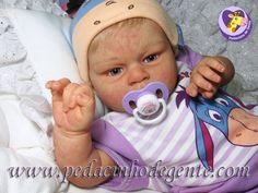 Reborn Doll Caroline by Pedacinho de Gente