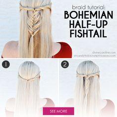 The fishtail braid i...