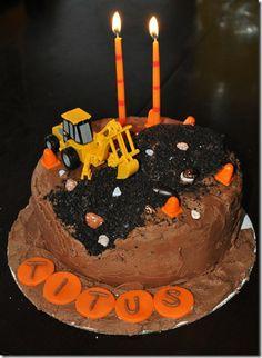 Construction Bday Cake