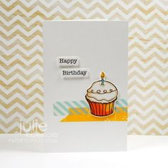 Julie Ebersole made a cute series of Washi Tape cards on her blog this week.